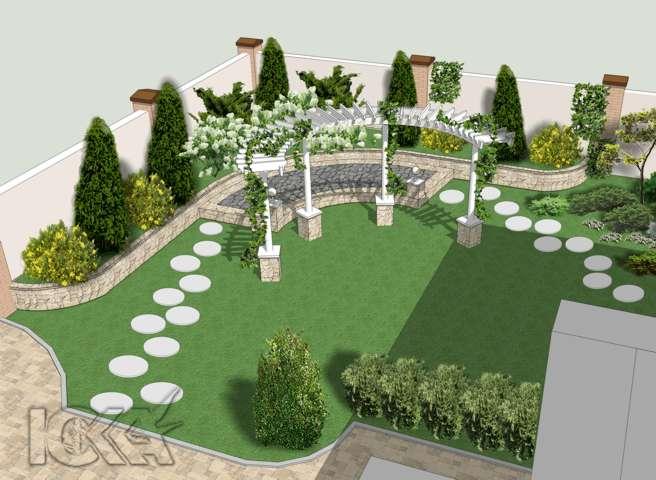 Дизайн двориков